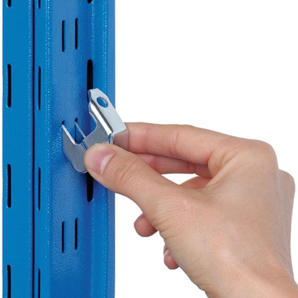 Accessori per scaffali solo un 39 altra idea di immagine di for Scaffalature metalliche ikea